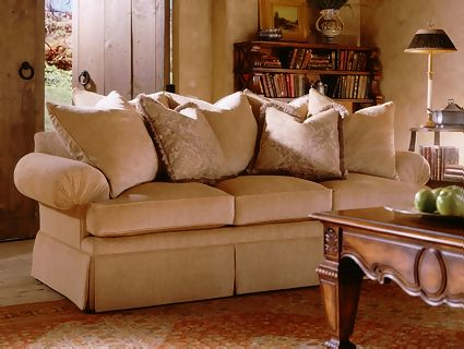 H1300a sofa fireside collection 102909