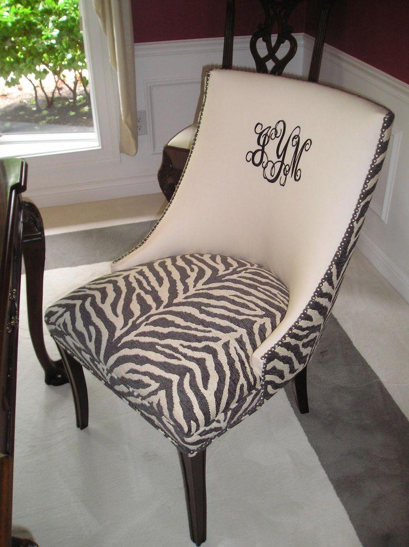 Zebra chair 2