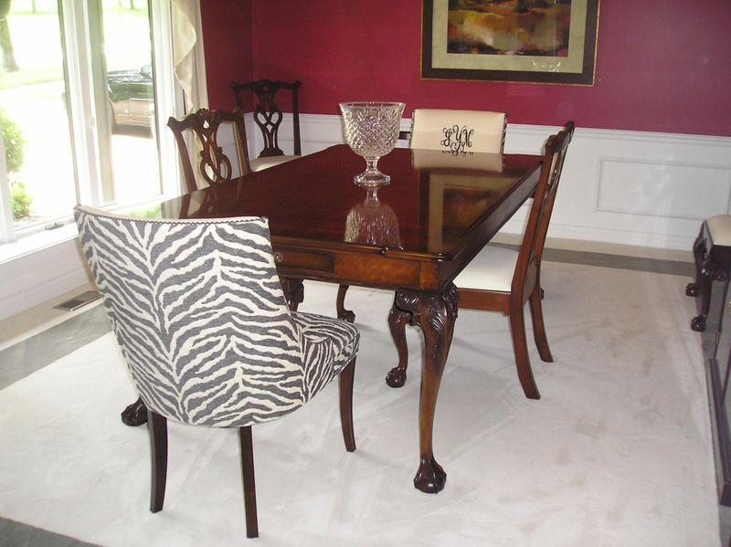 Zebra chair 1