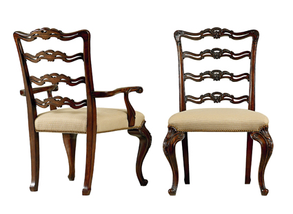 9400_27_28 Ladder Back Dining Chairs 103009