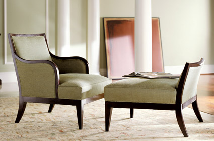 H0355-Chair-Otto contemporary bergere 111709