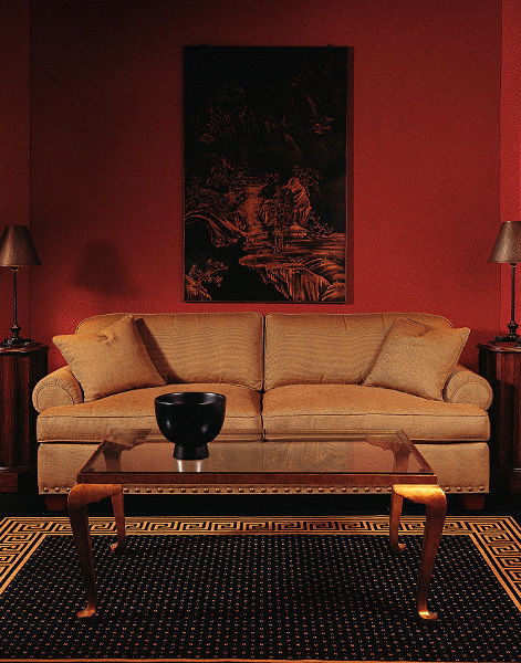 1242-2_Sofa_Room red and peach