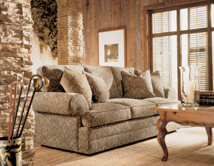 henredon fireside collection sofa