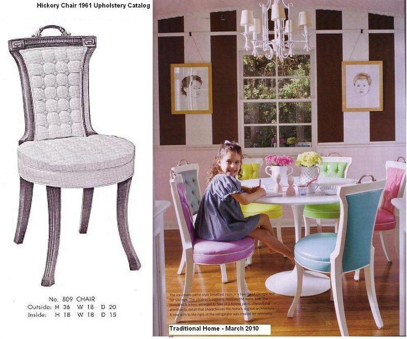 809 Tufted Chair - HC Trad Home