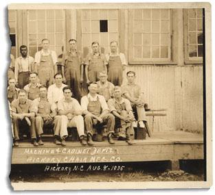 Hickory_Chair_Employees_1935