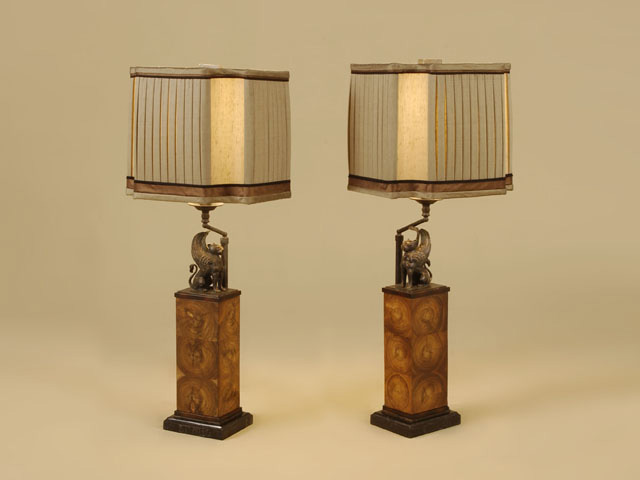 maitland iteminformation lighting silk lamps shade table smith lamp leather inlaid lacquered and port brass accents