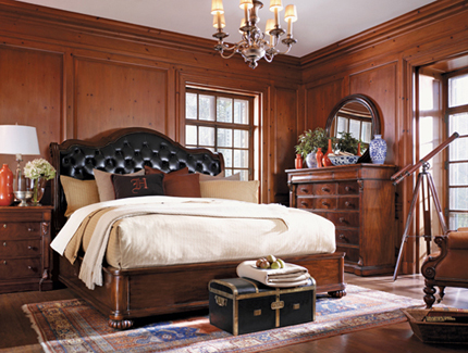 Henredon Brompton Collection, California King Bed