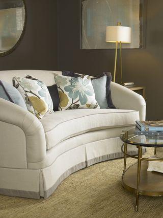 A little color & throw pillows