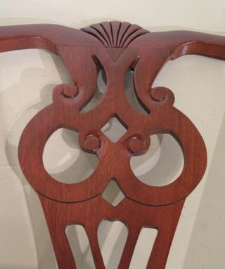 840-01 &-02 Chippendale Chairs 6