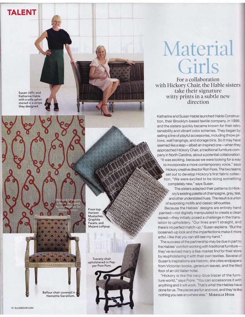 Hable Elle Decor 2011