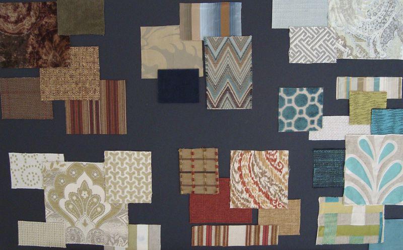 Fabric Boards Lobby, Fireside 3