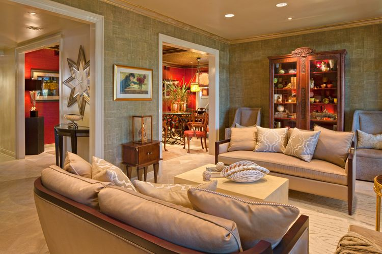 Proudly Pearson Lee Ali Interiors Living Room
